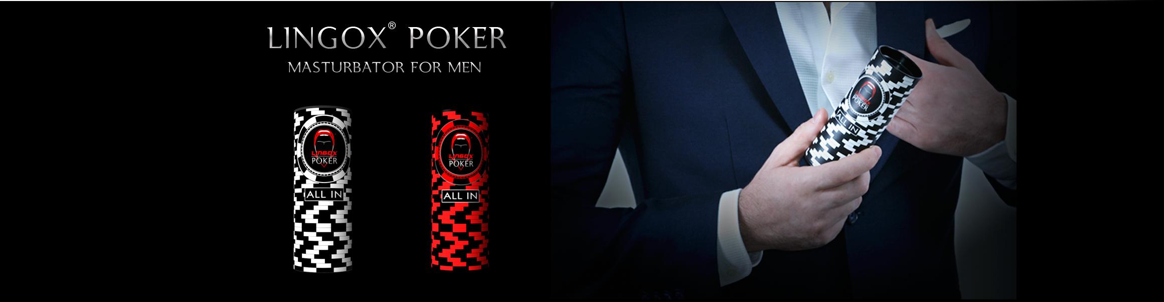 Lingox Poker Male Masturbator